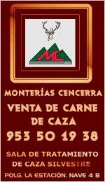 Monterías en Córdoba, Sierracaza - Cencerra