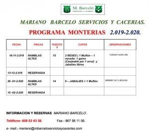 Calendario Mariano.Mariano Barcelo Avanza Su Calendario De Monterias Todomonteria