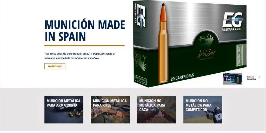 Munición made in Spain