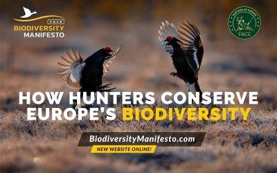 El 'Manifiesto de Biodiversidad' recopila cerca de 500 proyectos de conservación desarrollados por cazadores