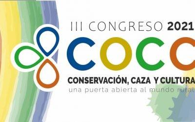 Cáceres acoge el 1 de octubre el III Congreso Conservación, Caza y Cultura.
